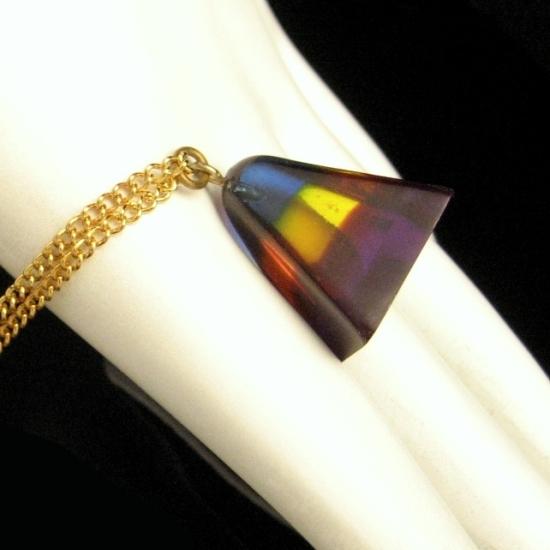 Box jewelry lucite vintage