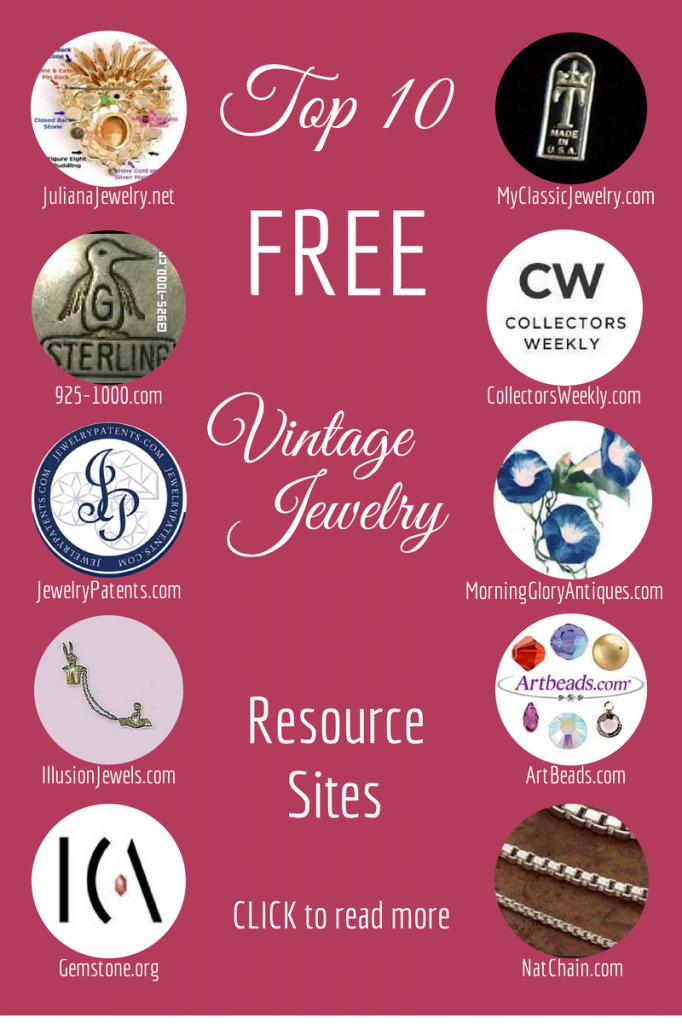 Top Ten Vintage Jewelry Resource Sites