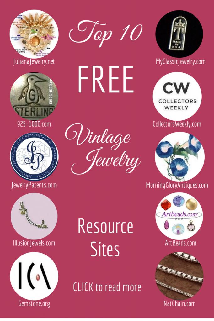 Top Ten Vintage Jewelry Resource Sites