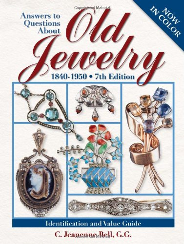 Answers to Questions About Old Jewelry Book