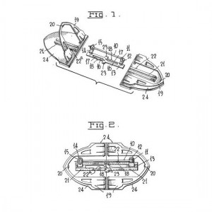 Trifari 1936 ClipMates Patent 2050804 Drawing