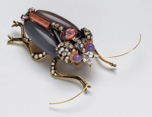 Madeleine Albright's 1997 Iradj Moini Large Bug Pin