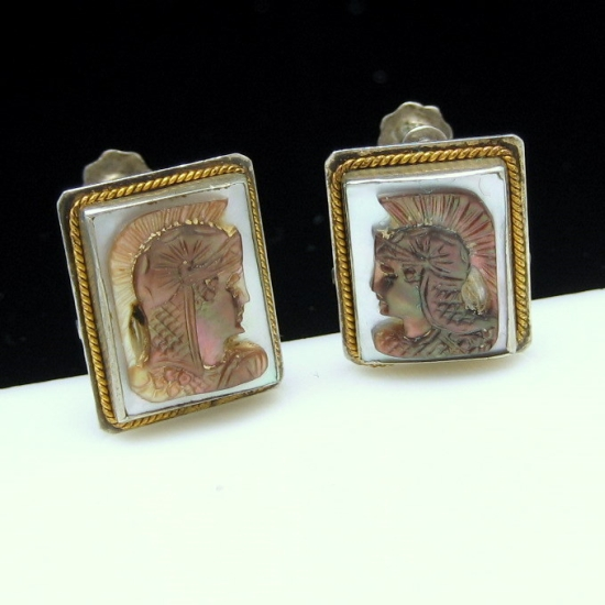 Click to view beautiful vintage earrings