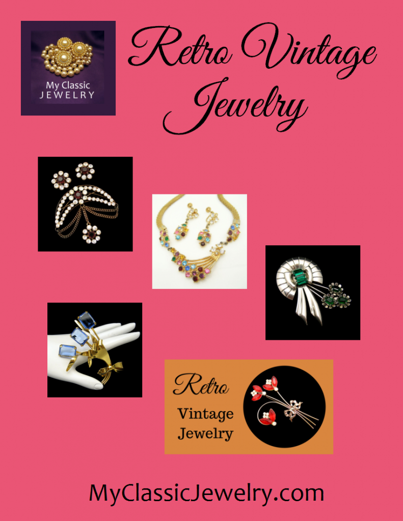 Retro Vintage Jewelry Article Graphic